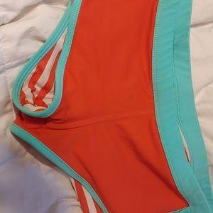 Reversible swim shorts
